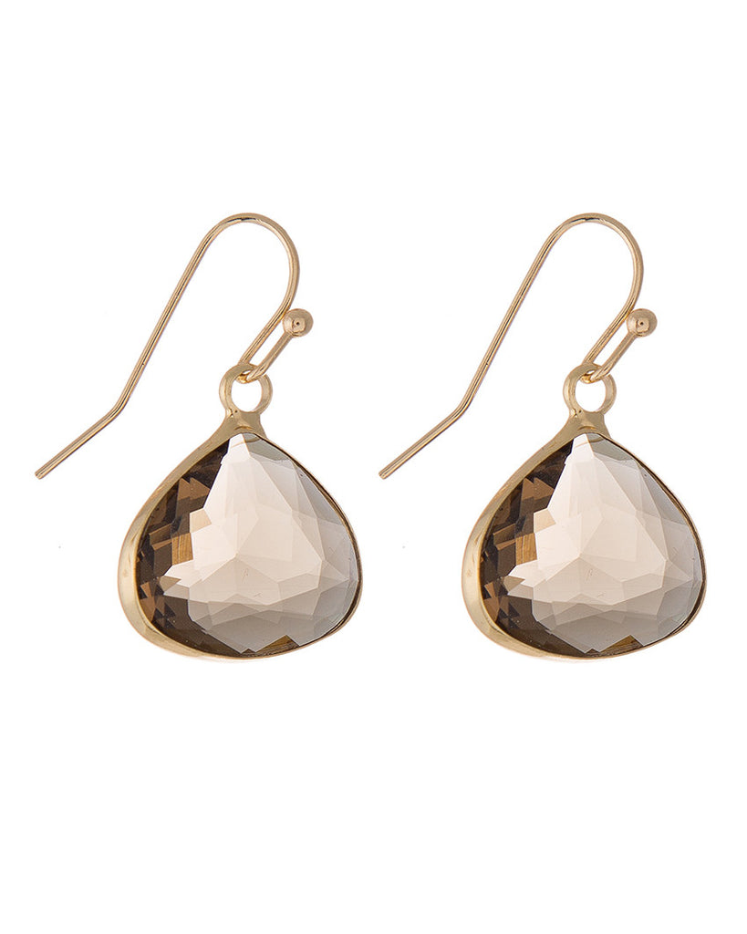 Nova Gem Drop Earrings