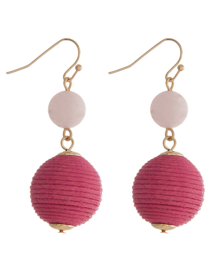Zariah Ball Drop Earrings