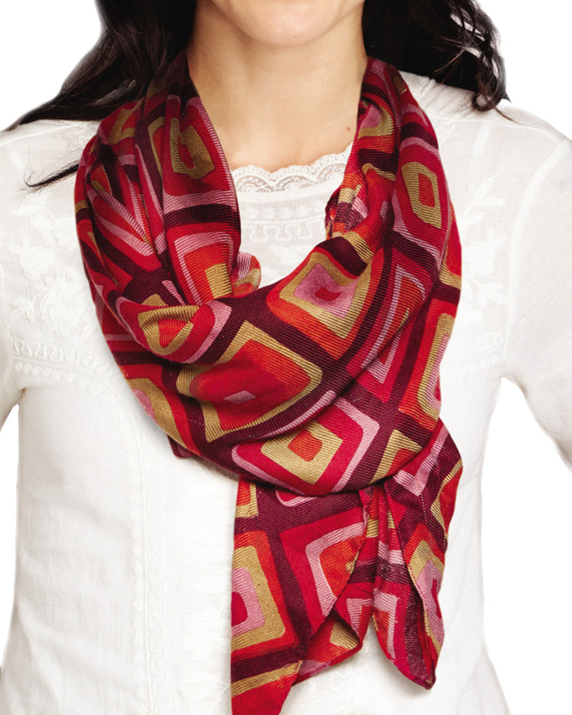 Bright Like a Diamond Pattern Scarf