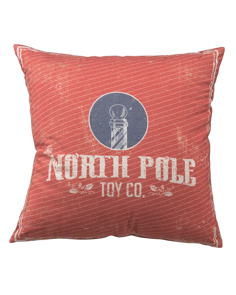 North Pole Toy Co. Pillow