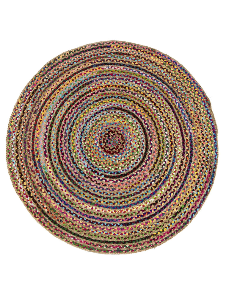Mirabel Colorful Round Rug