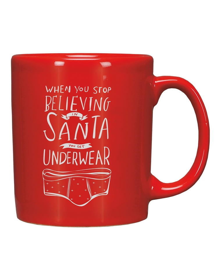 When You Stop Beliving In Santa Mug