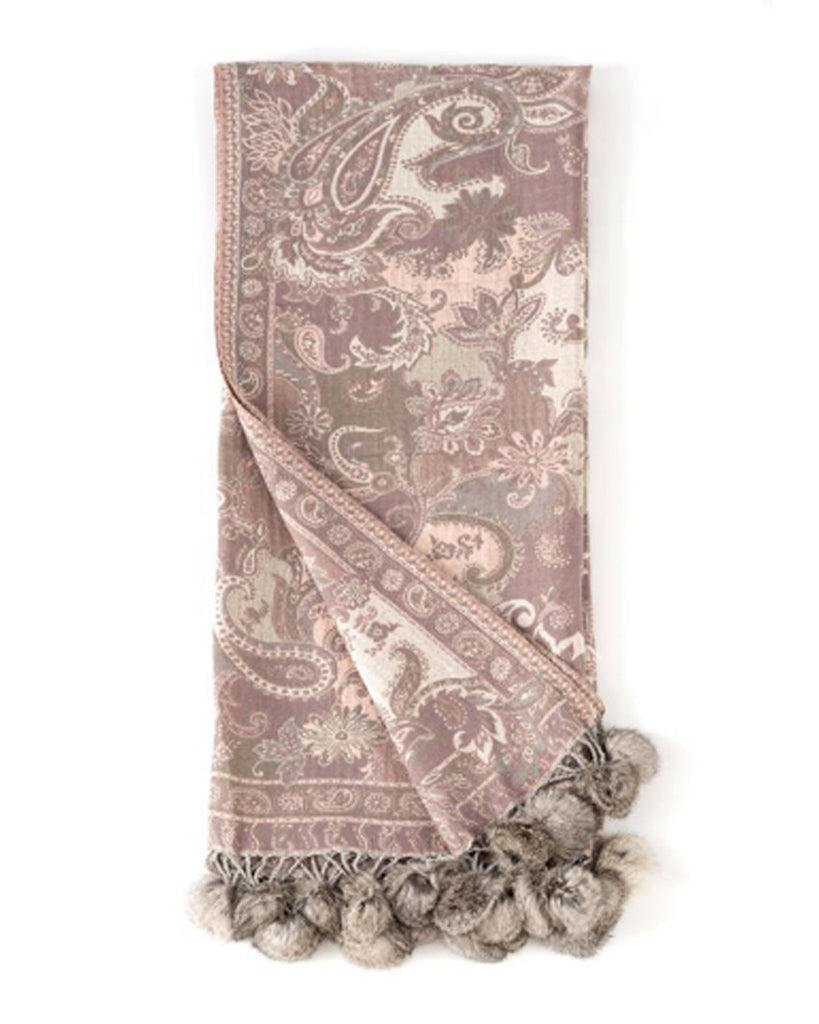 Roskilde Paisley Throw
