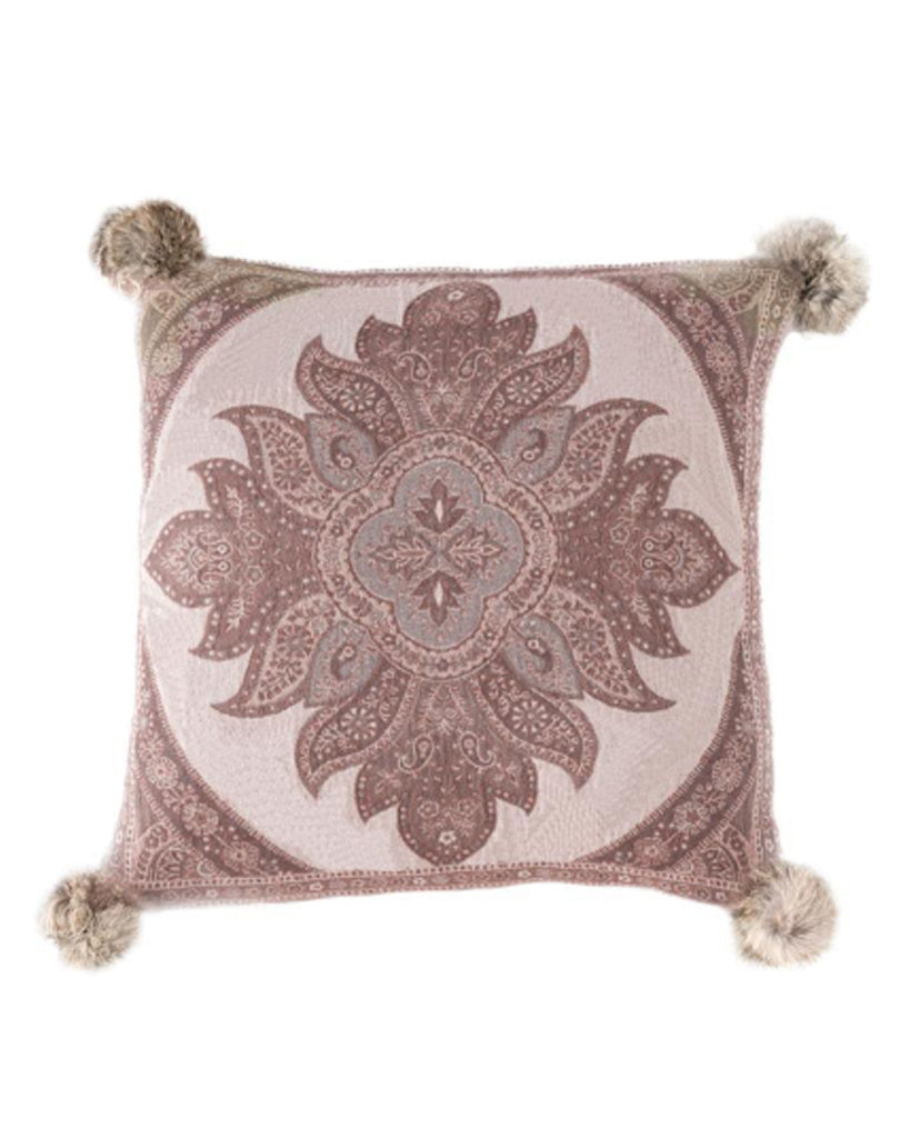 Roskilde Paisley Throw Pillow