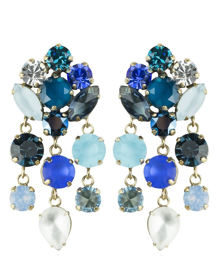 Abby Statement Drop Earrings