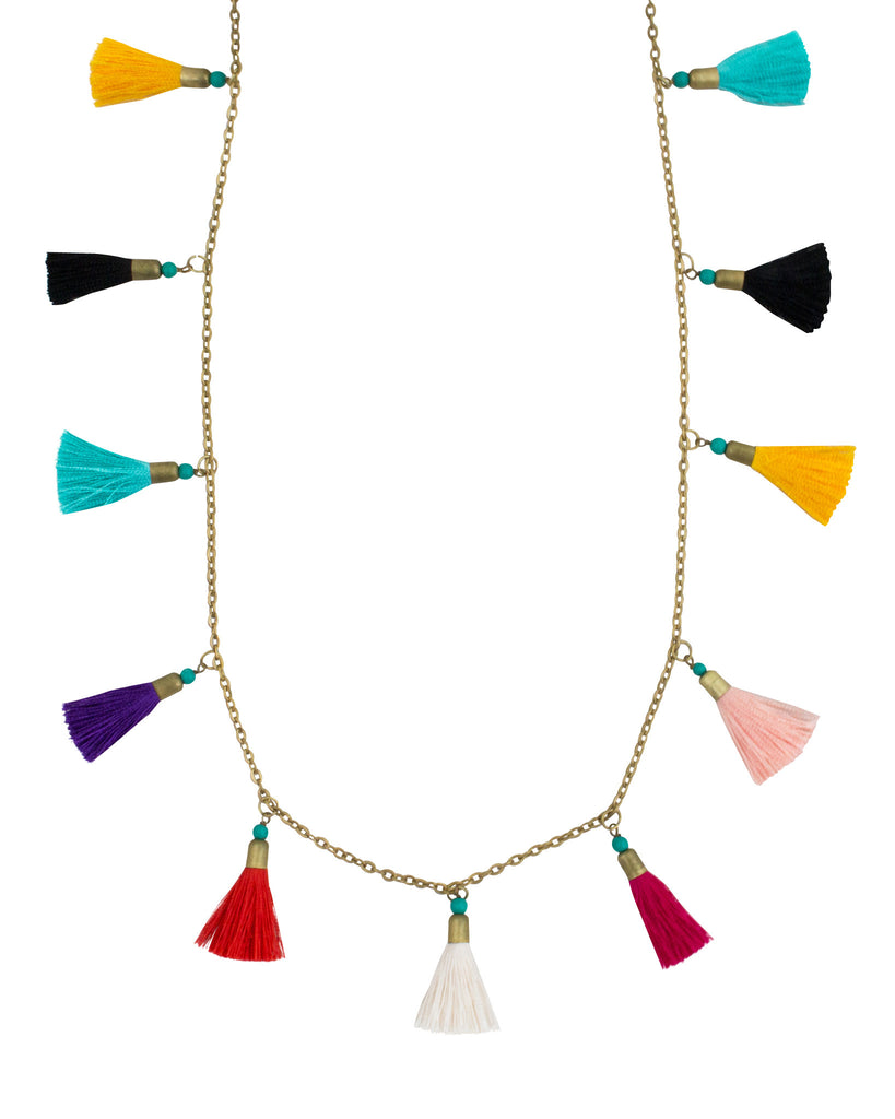 Casta Tassel Necklace