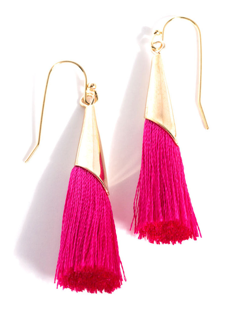 Tallulah Tassel Earrings