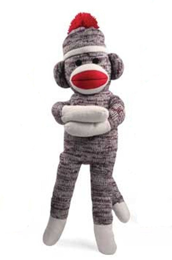 Sock Monkey Plush Doll - 40 Inches Tall