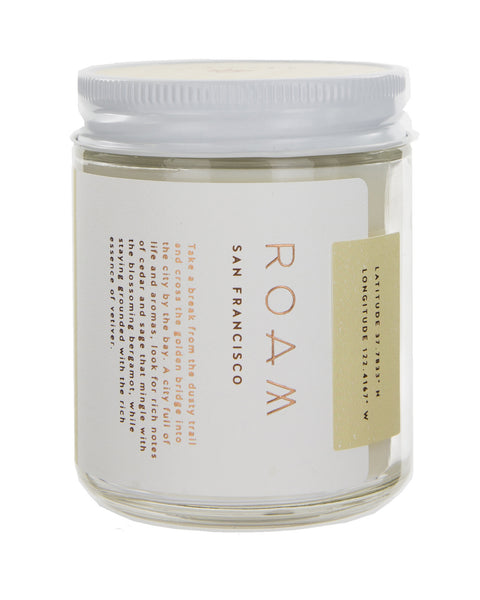 Roam San Francisco Soy Wax Candle