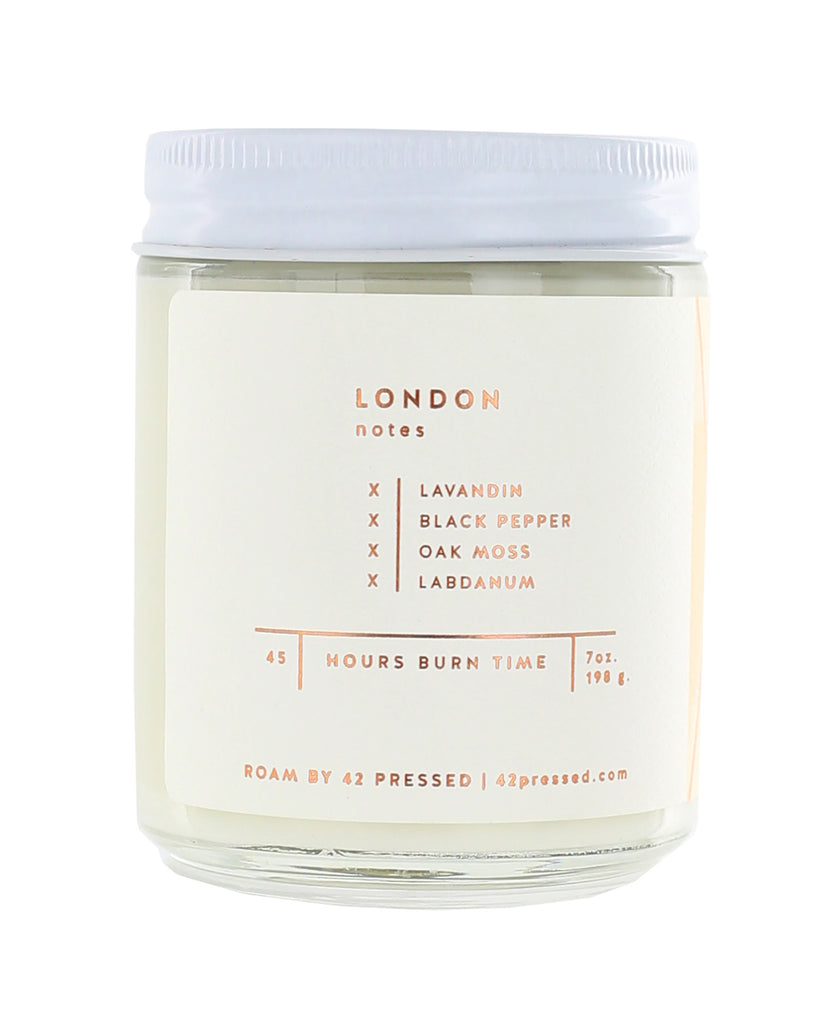 Roam London Soy Wax Candle