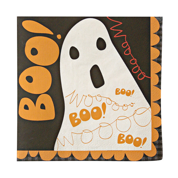 Boo! Small Party Napkins - Set of 20