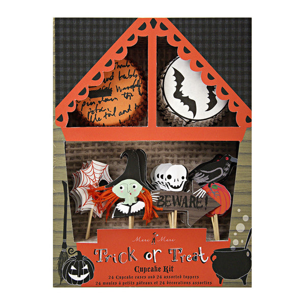 Boo! Halloween Cupcake Kit