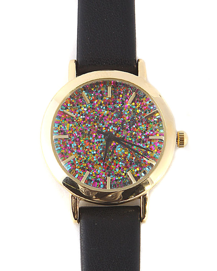 Kate Colorful Glitter Watch