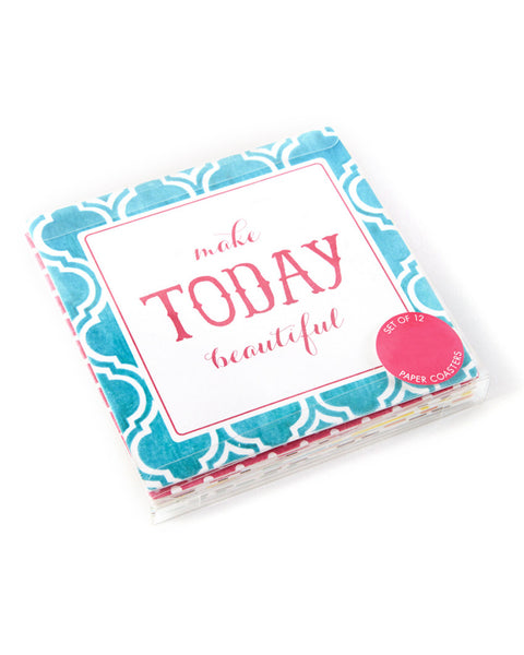 Chit Chat Paper Coasters