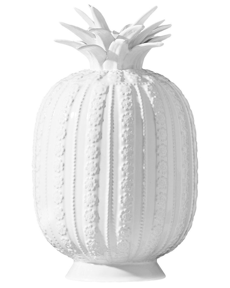 Aloha Decorative White Pineapple