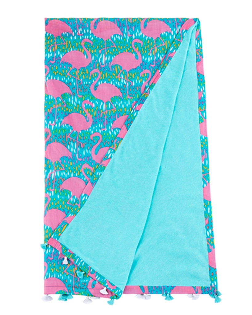 Moxie Patterned Beach Towel