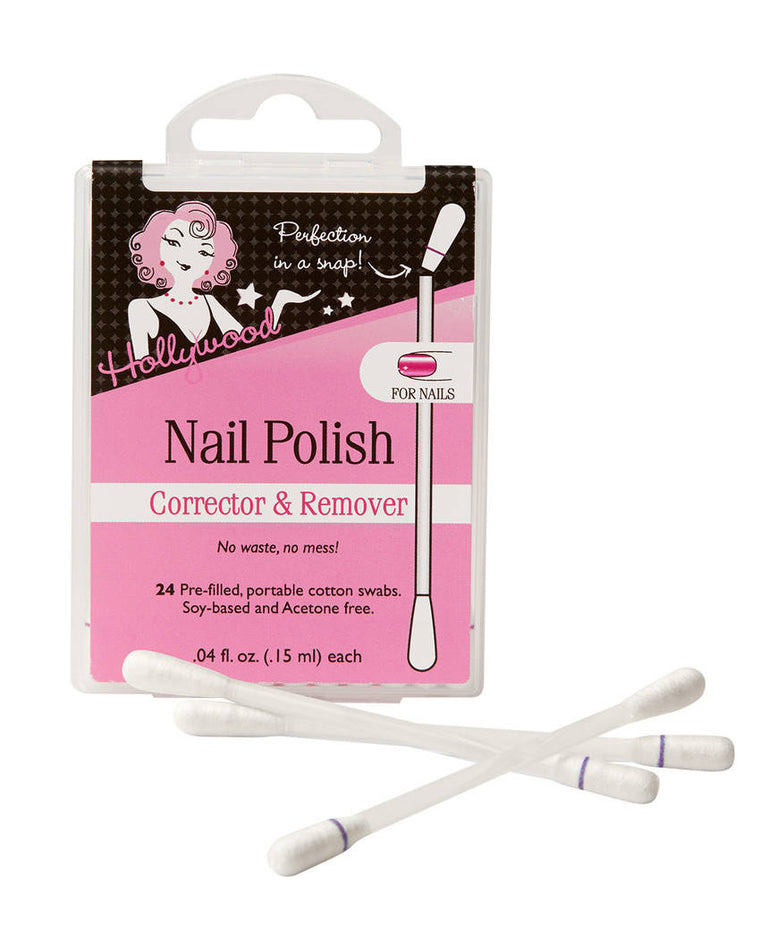 Nail Polish Corrector & Remover Cotton Swabs