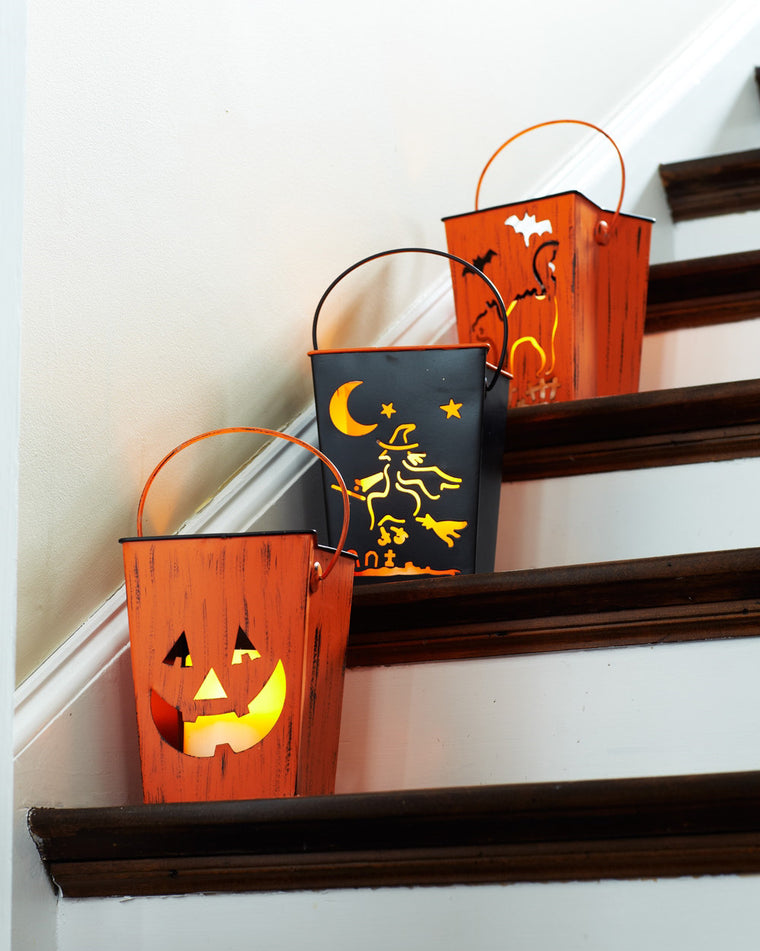 Halloween Lantern Luminary Set