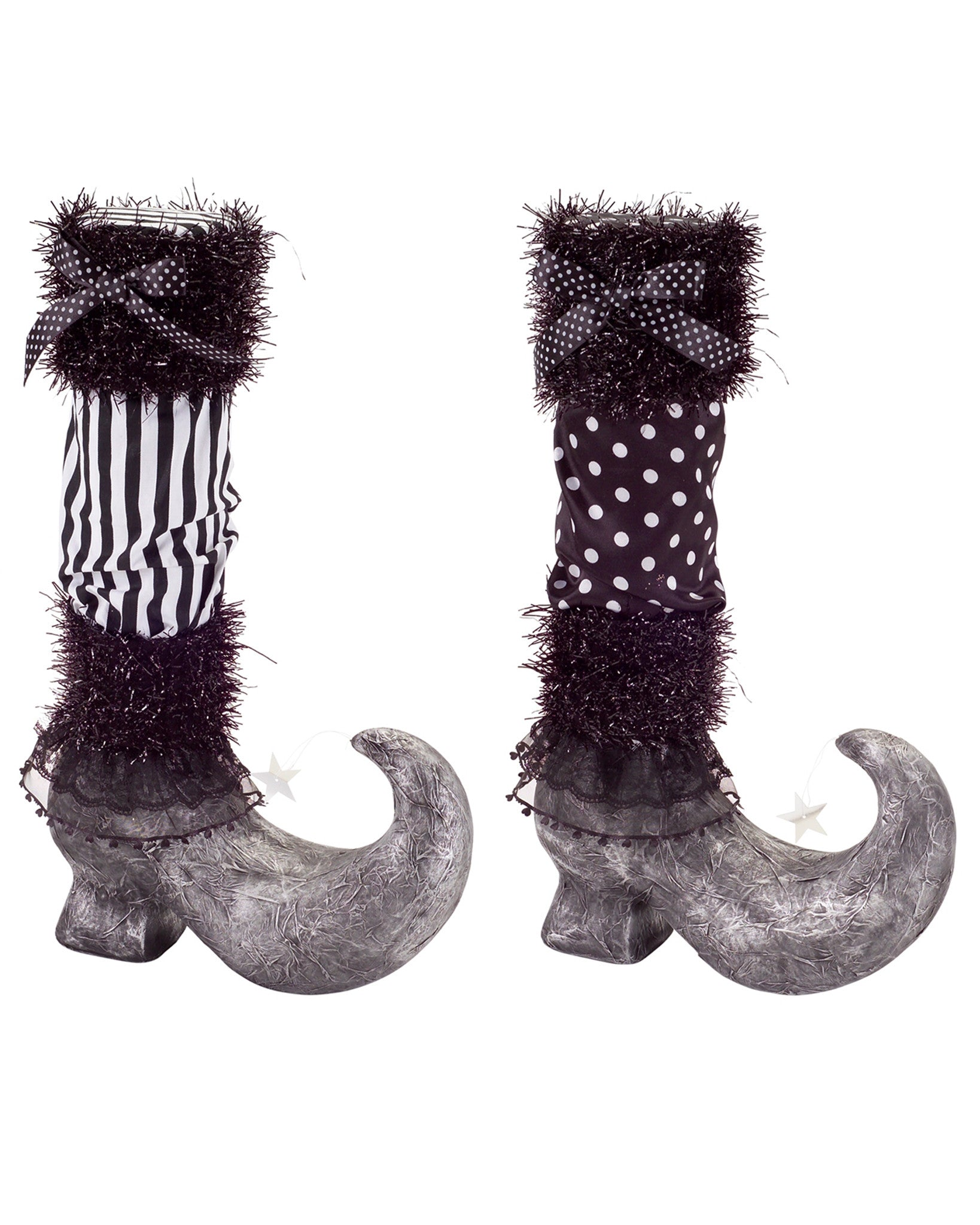 Halloween Decorative Witch Boots Set