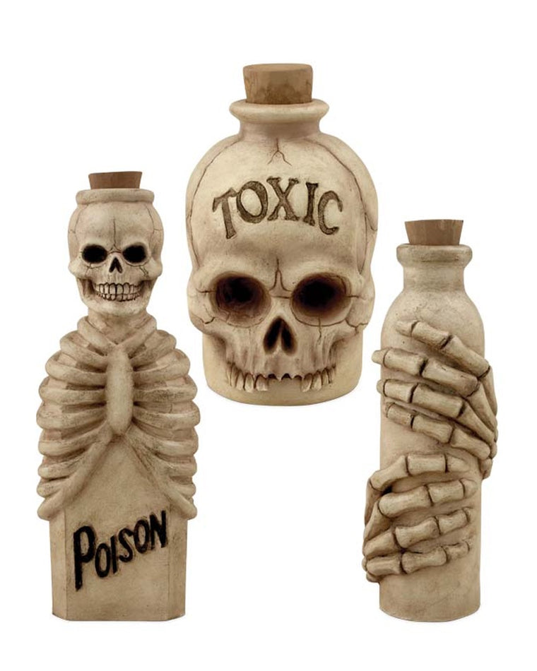 Skeleton Bottle Set (Set of 3)