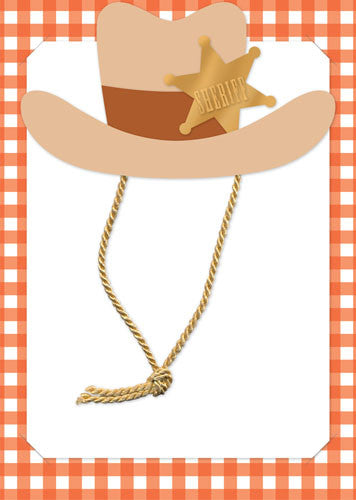 Cowboy Hat Invitations