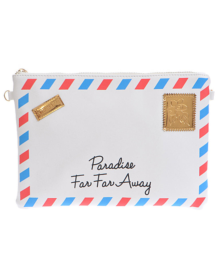 Postcard to Paradise Clutch