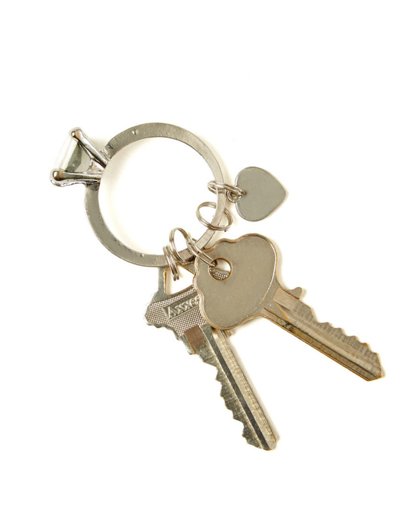 Key to My Heart Bling Key Ring