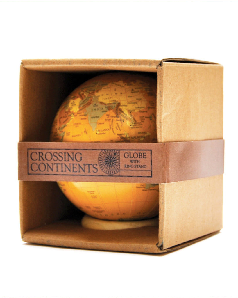 Crossing Continents Decorative Globe