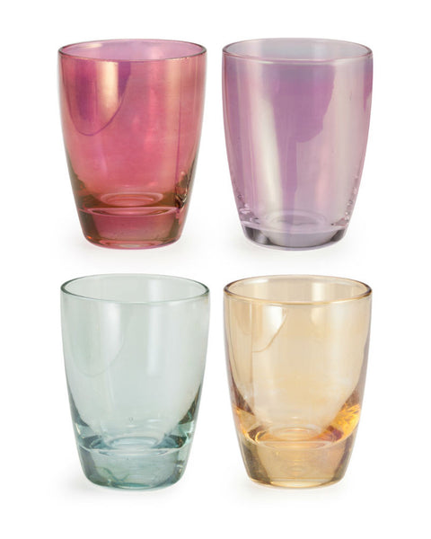 'Chez Elle' Luster Shot Glass Set