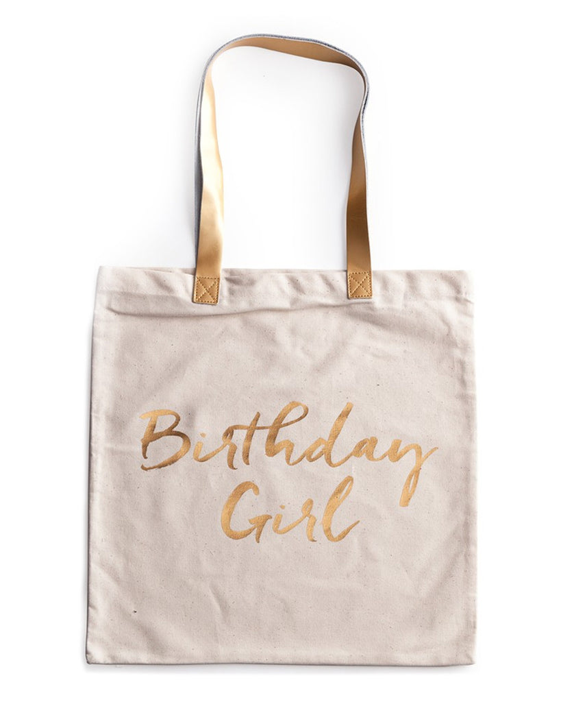 Birthday Girl Canvas Tote
