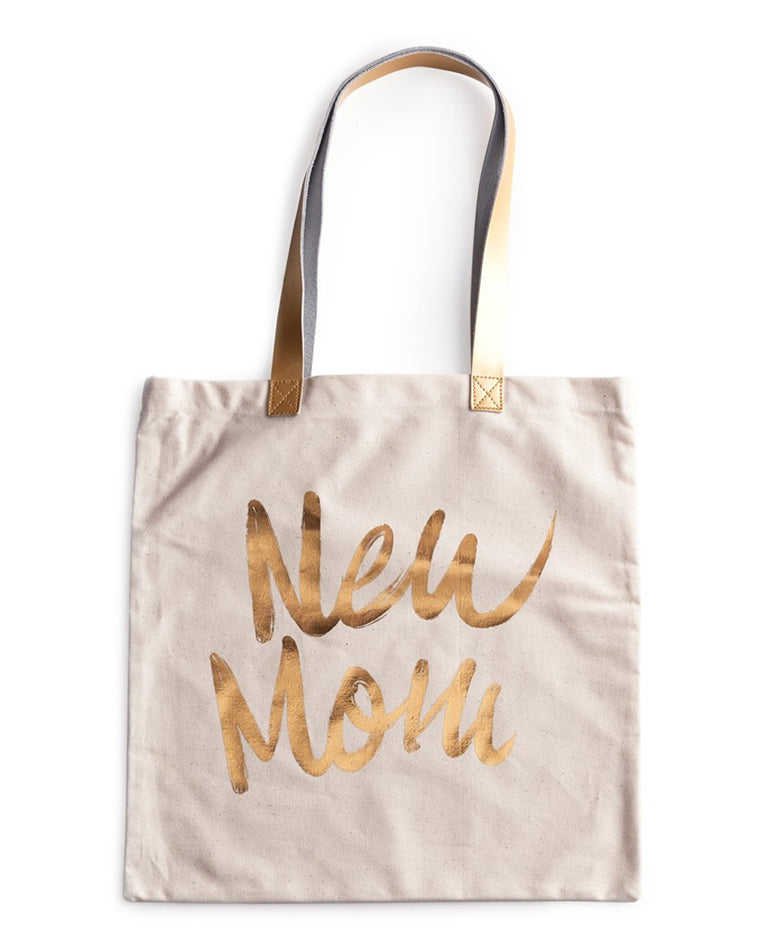 New Mom Canvas Tote