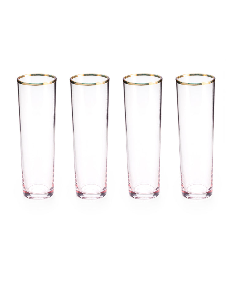 Anything Goes Champagne Flutes (Set of 4)