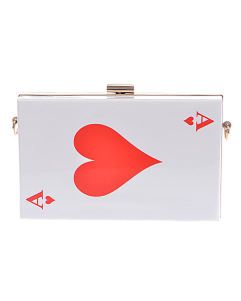 Ace of Hearts Clutch