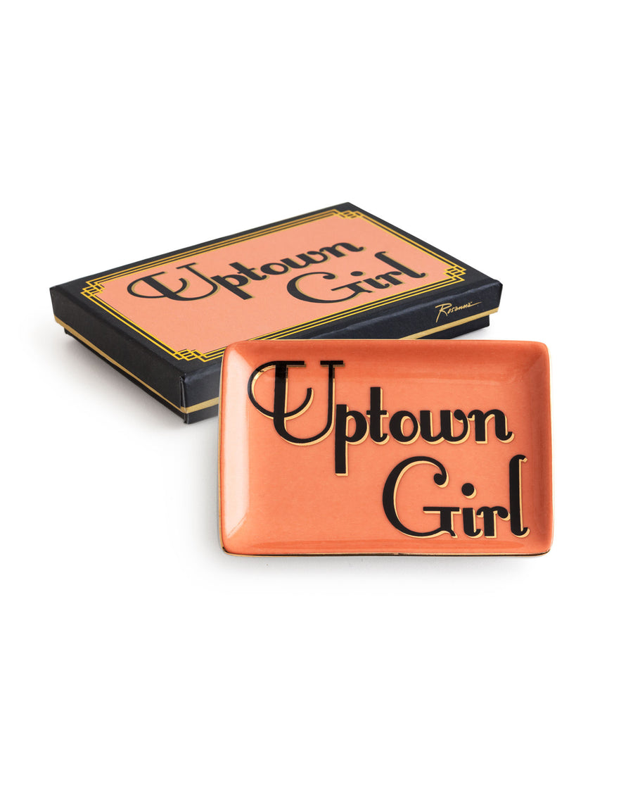 Uptown Girl Porcelain Tray