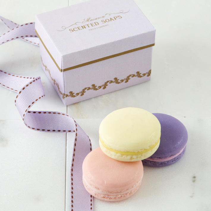 Macaron Soaps in Gift Box