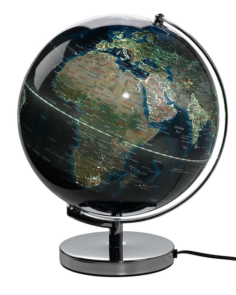 City Lights Illuminated Globe Light