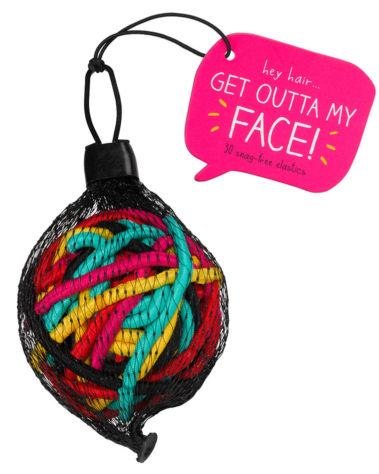Colorful Snag-Free Hair Band Ball