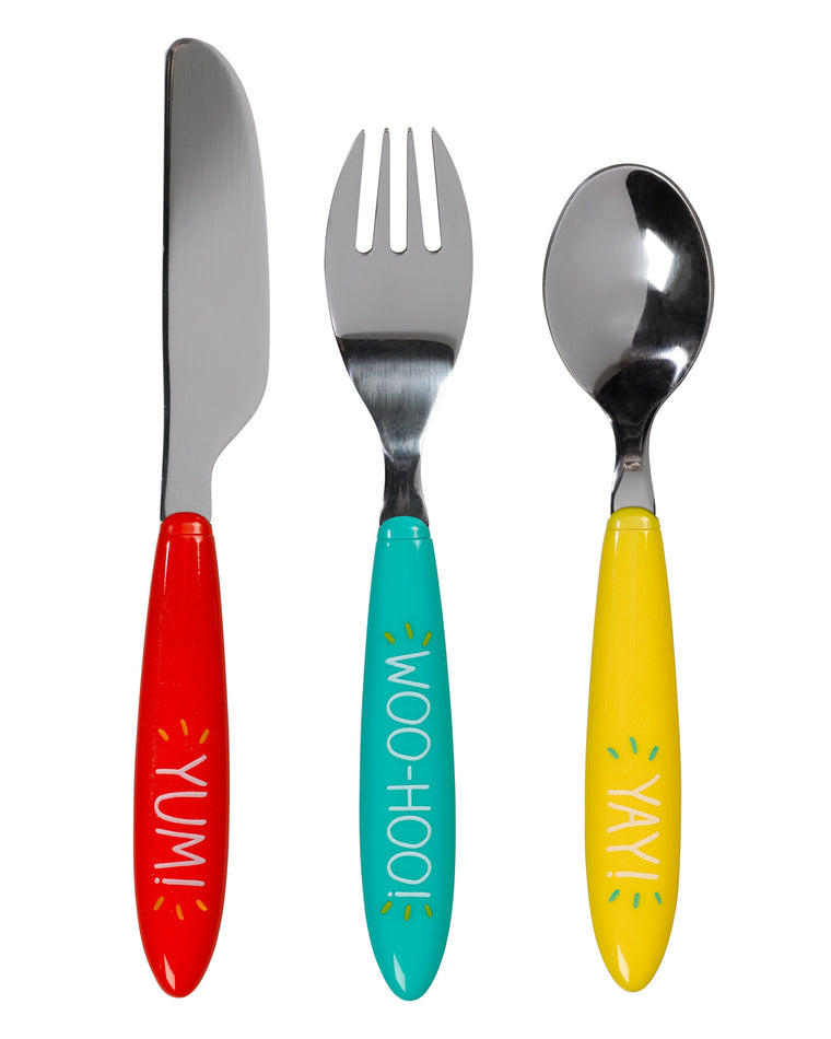 Colorful Children's Cutlery Set