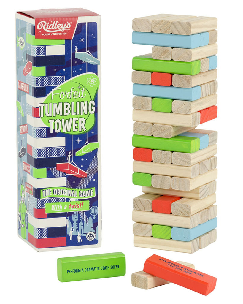 Forfeit Tumbling Blocks Game
