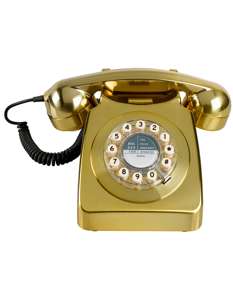 '746' Corded Metallic Phone