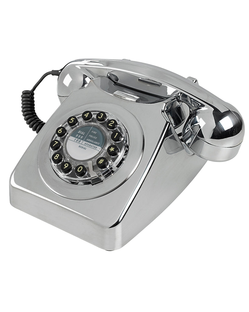 '746' Corded Chrome Phone