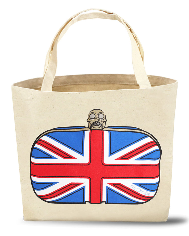 Elizabeth Union Jack Tote Bag