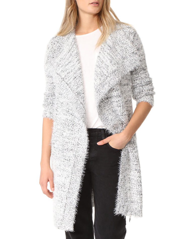 Ayala Soft Eyelash Cardigan