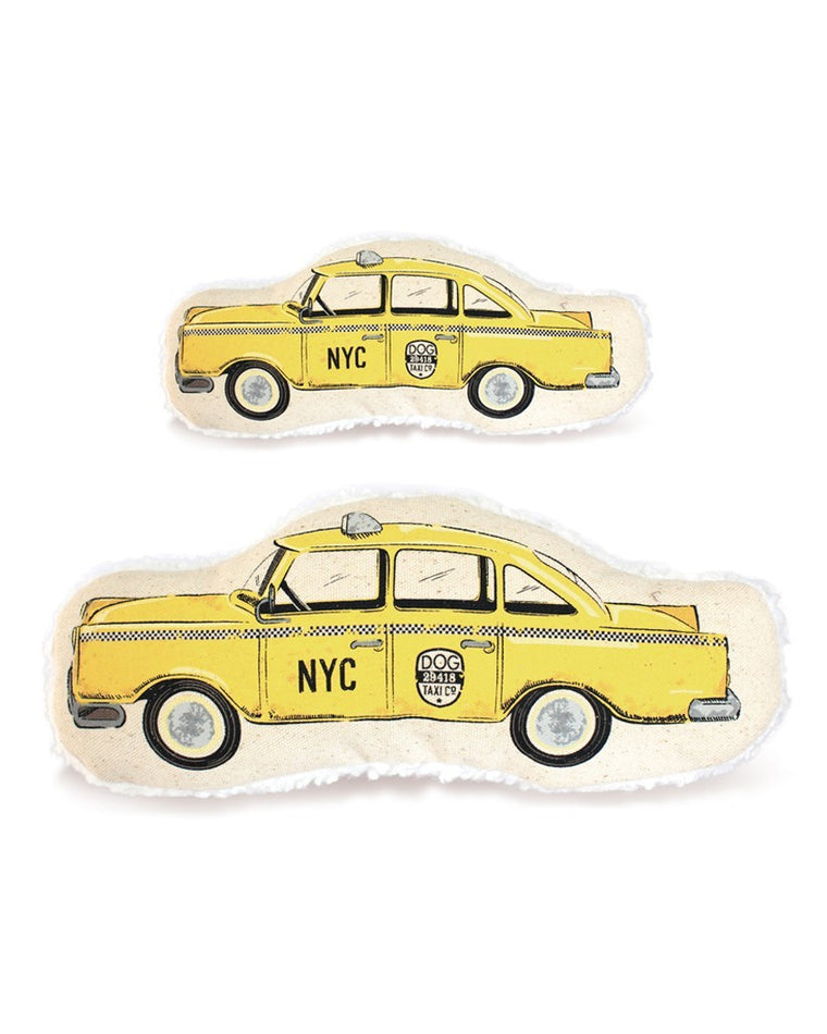 NYC Taxicab Plush Dog Toy
