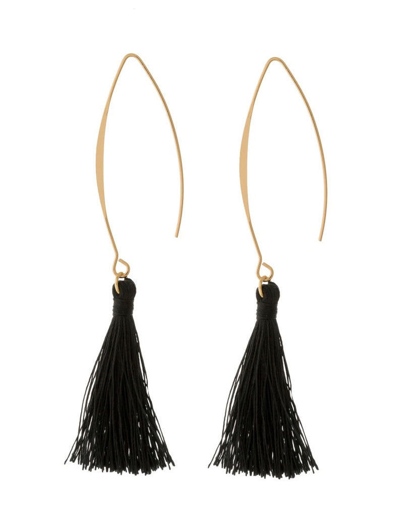 Carrie Tassel Drop Earrings