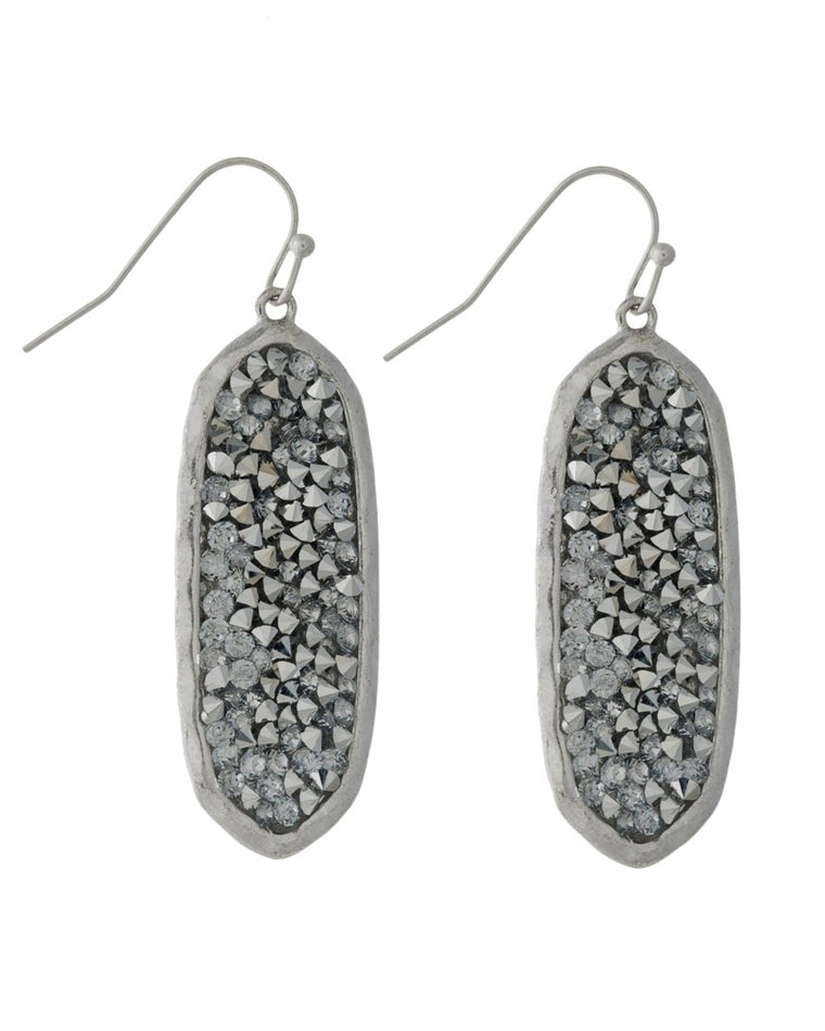 Gina Gem Drop Earrings