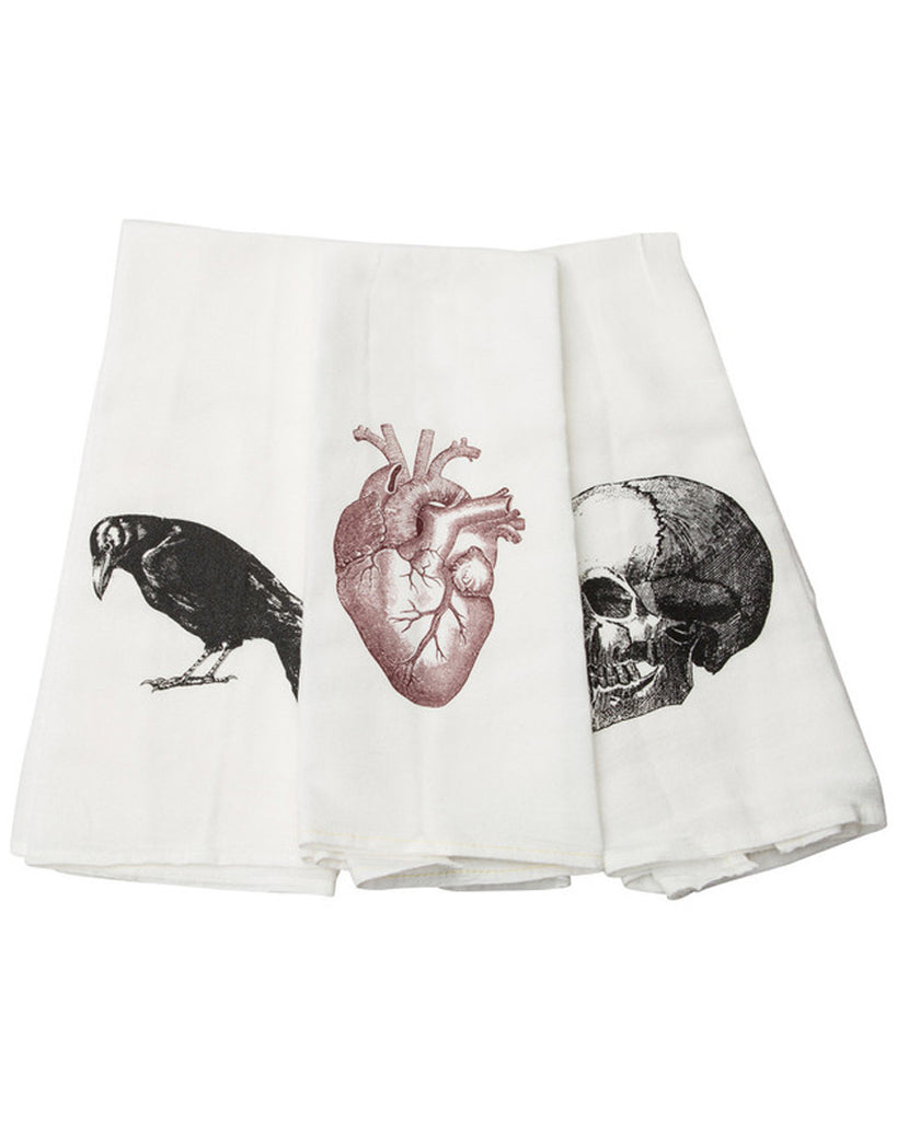 Poe Tea Towel Set (Set of 3)