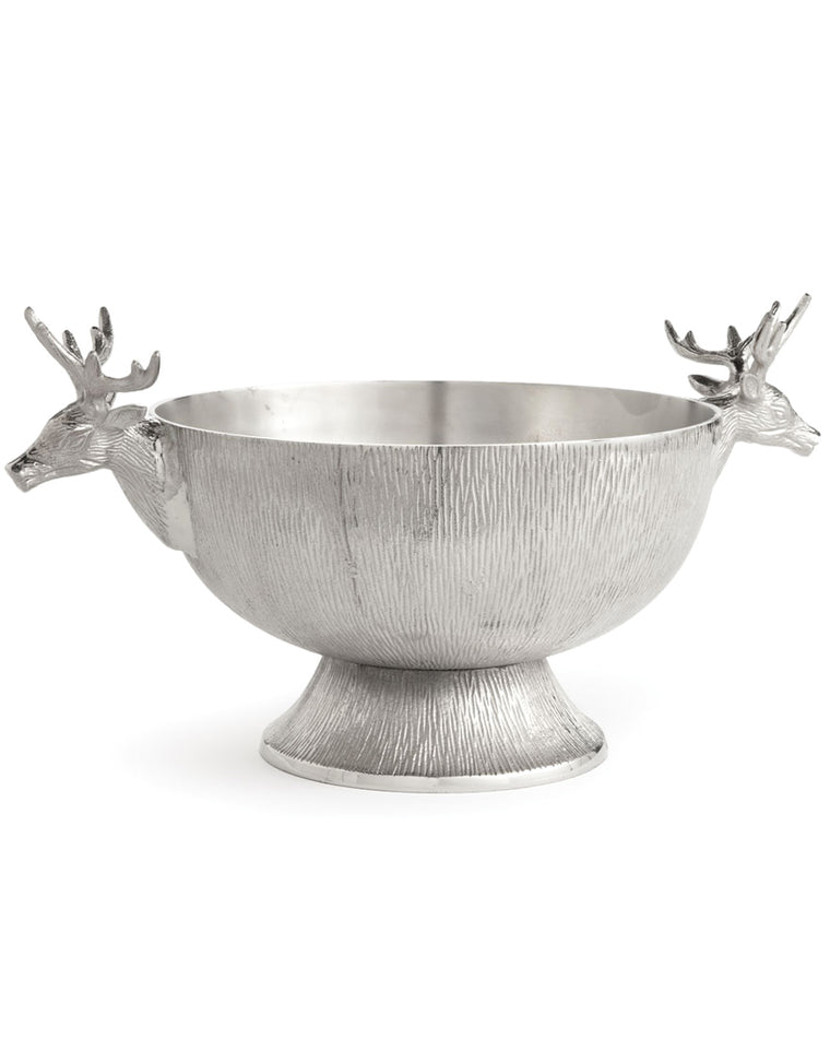 Deer Handle Footed Decorative Bowl