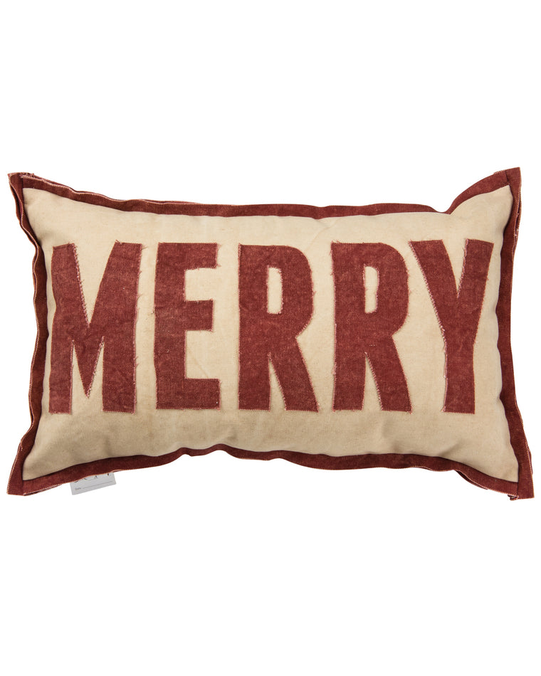 Merry Accent Pillow
