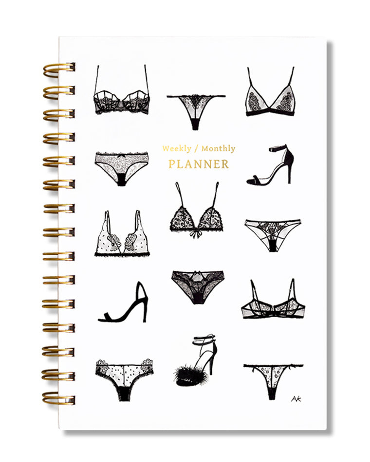 Lingerie Weekly/Monthly Planner